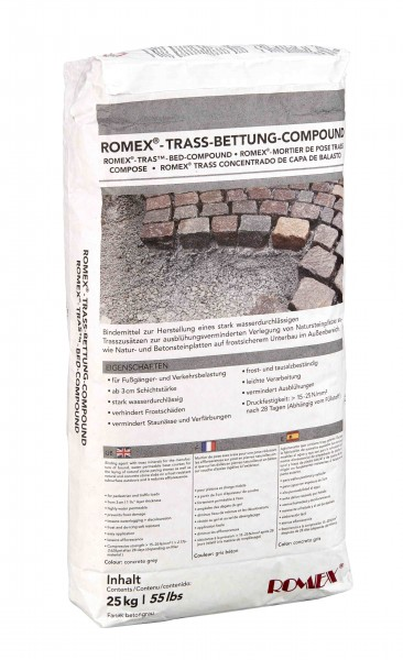 ROMPOX ® – TRASS-BETTUNG-COMPOUND